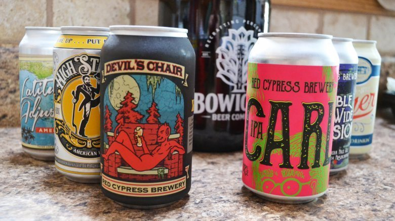 Craft Beer Tastes Good In Cans