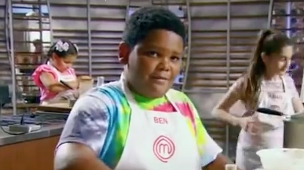 Ben Watkins on Master Chef Junior