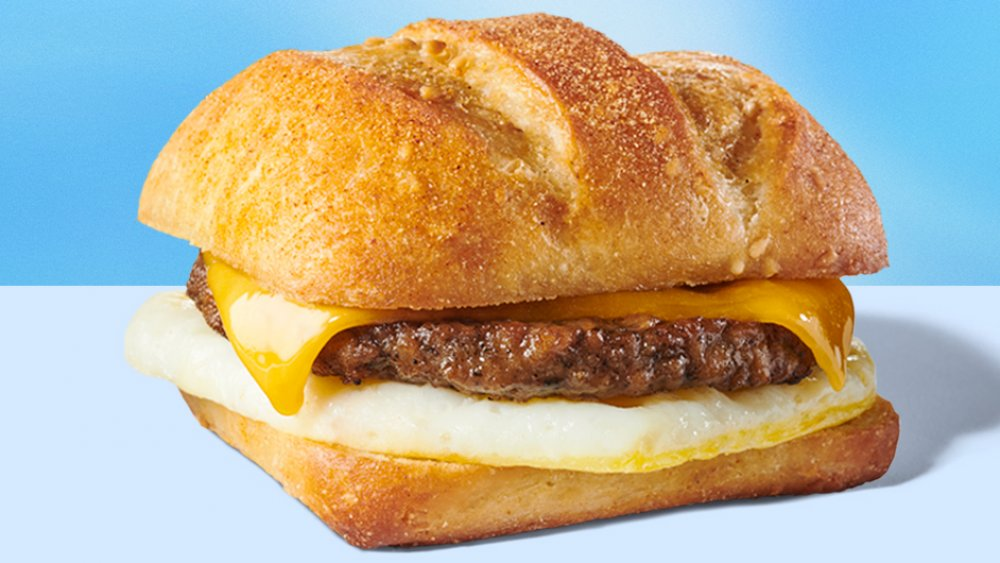 The Starbucks Impossible Sausage Breakfast Sandwich