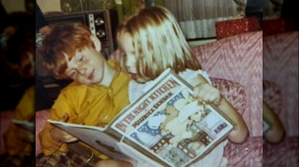 bobby flay reading book as a child