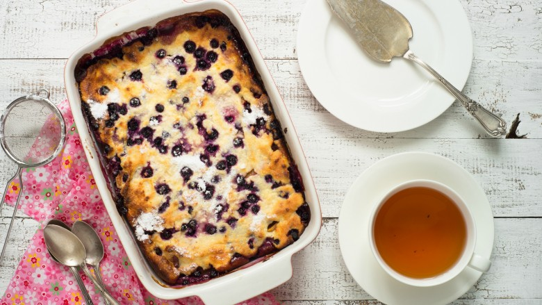 Incredibly simple breakfast casseroles blueberry pancake casserole ccuart Gallery