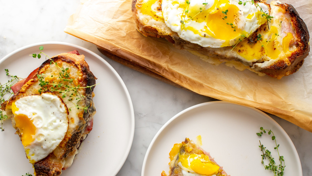 This Croque Madam Is The Most Amazing Sandwich You've Ever Tasted