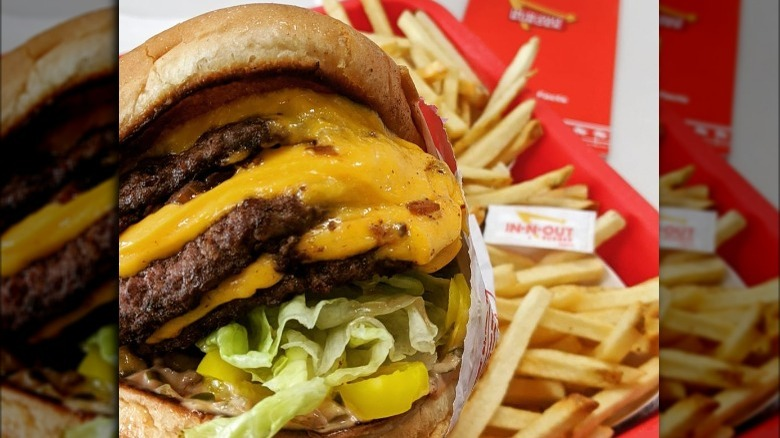 3x3 in-n-out burger