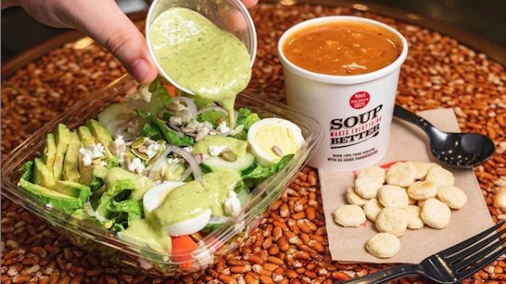 Fast Food Salad Chains Ranked From Worst To Best