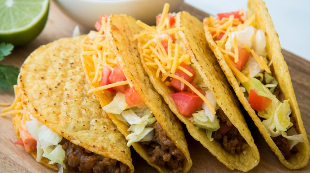 Fast food tacos ranked from worst to first