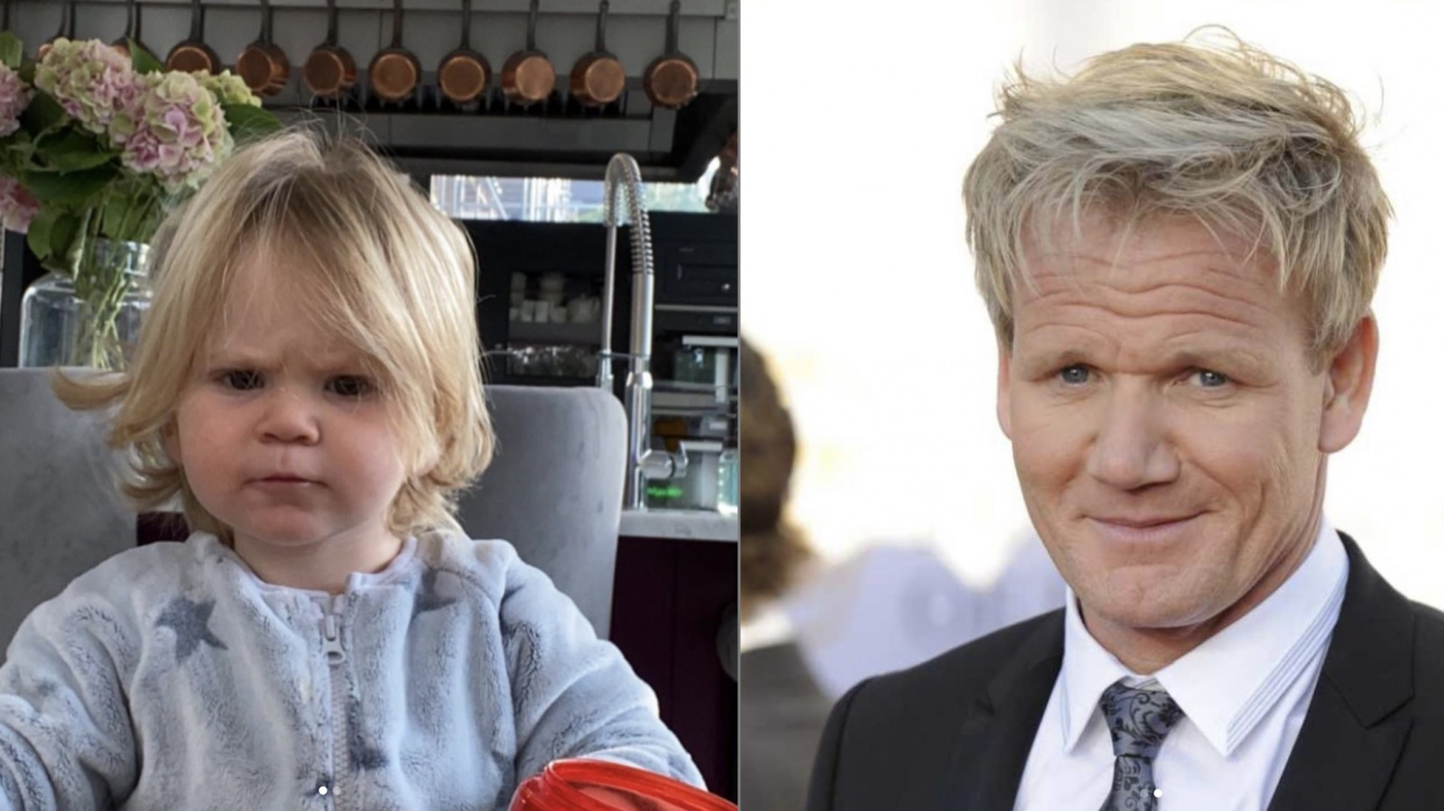 Gordon Ramsay's Instagram of his son has people talking thumbnail