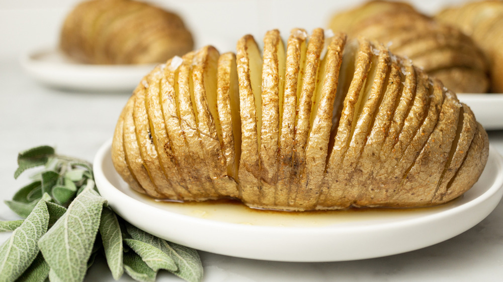 Hasselback Potatoes You'll Want To Pair With Everything