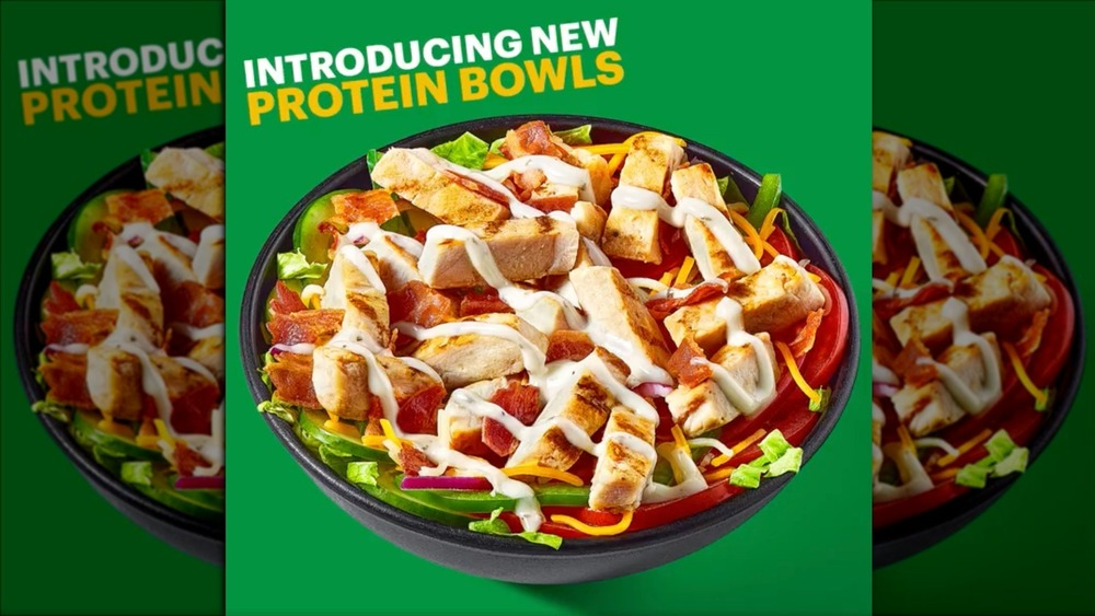 Here's everything you need to know about Subway's new protein bowls
