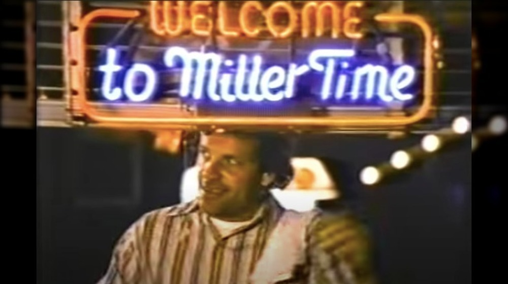Welcome to Miller Time Super Bowl commercial