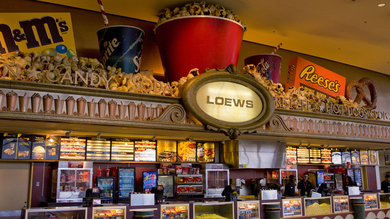 Loews concession stand.