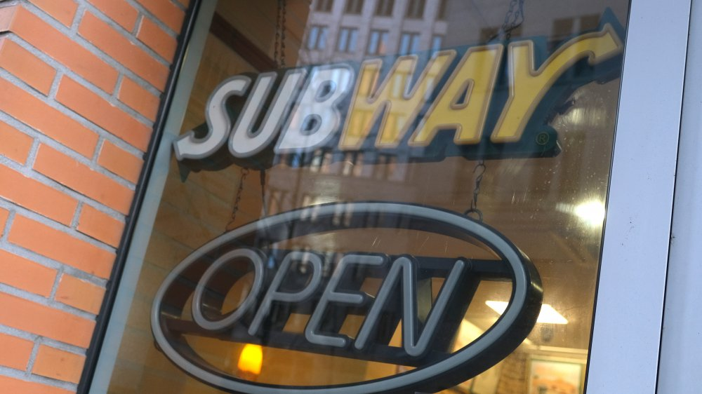 Signs Subway might not be around much longer