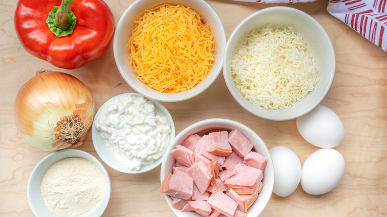 ingredients for egg bites