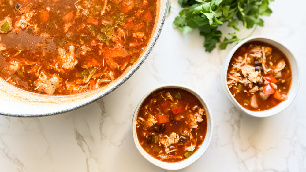 The Best Enchilada Soup Recipe You've Ever Tried