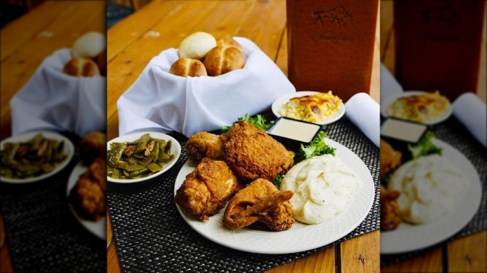 Kentucky: Merrick Inn Restaurant's fried chicken
