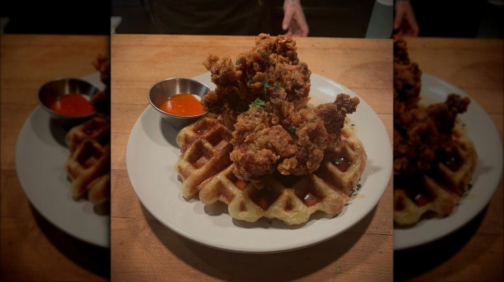 Massachusetts: Brassica Kitchen + Cafe's fried chicken