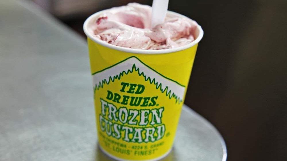 Ted Drewes Frozen Custard ice cream