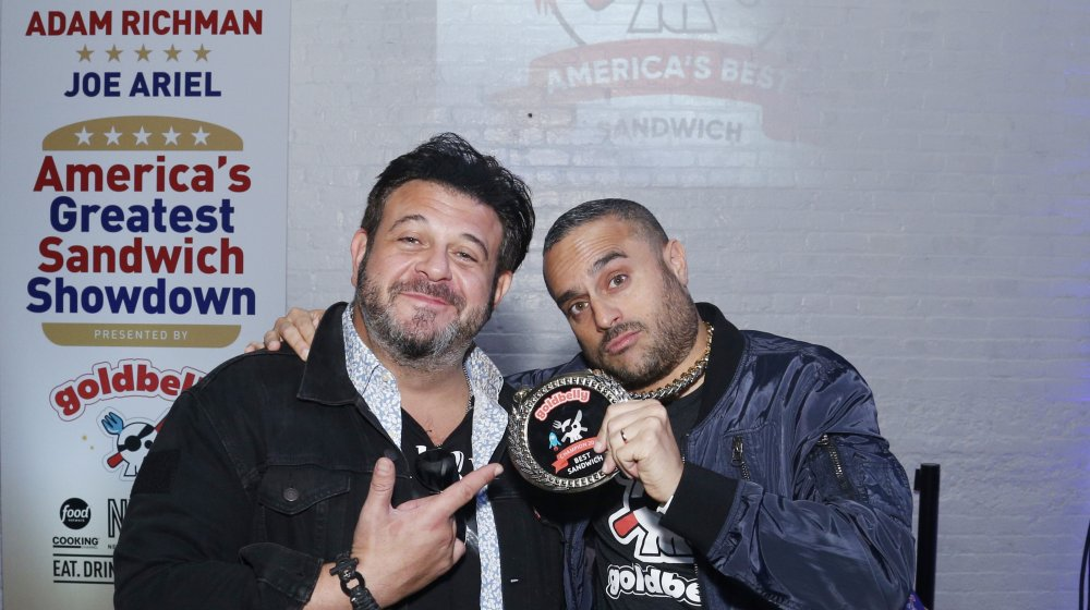 The food Adam Richman can't touch again after Man v. Food