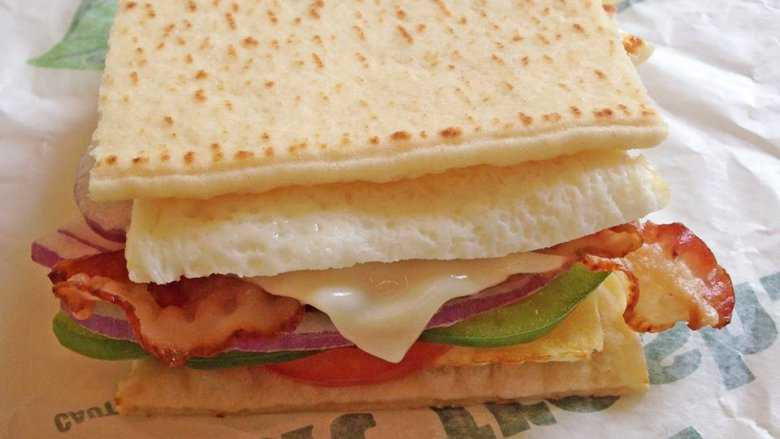 The truth about Subway's breakfast