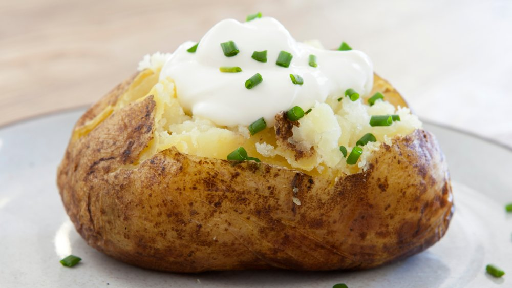 This British trick for baked potatoes will change everything