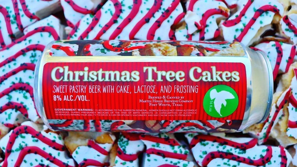 This Christmas Tree Cakes beer is turning heads