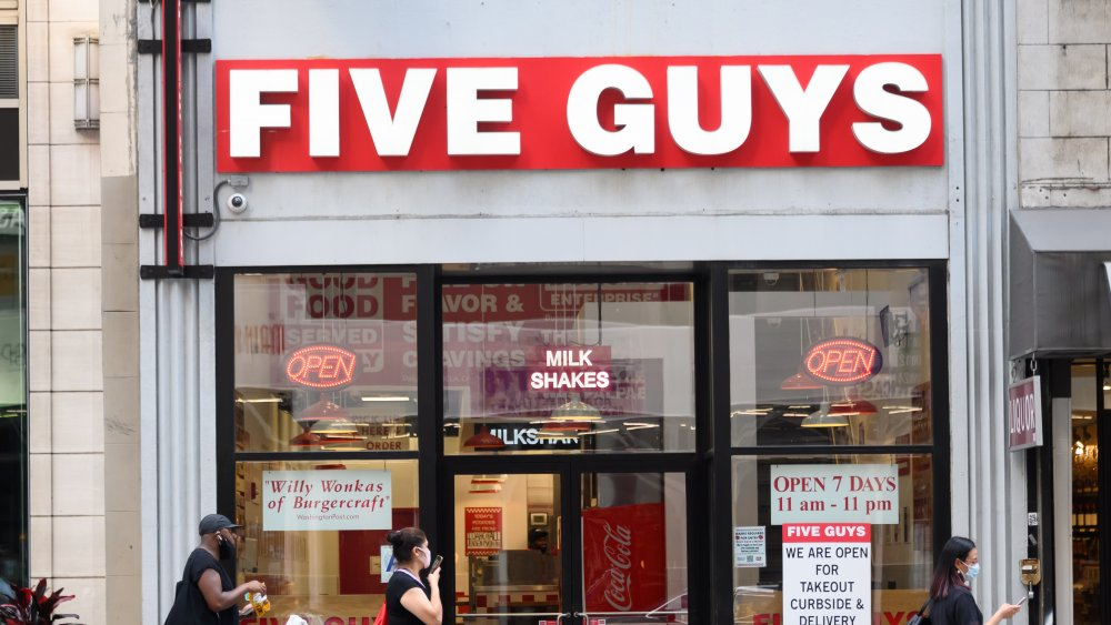 This is why Five Guys' milkshakes are so delicious