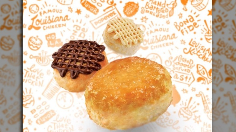 Popeyes' biscuits in the Philippines