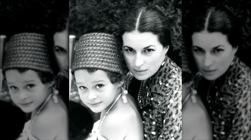 Veronica De Laurentiis and mother, Silvana
