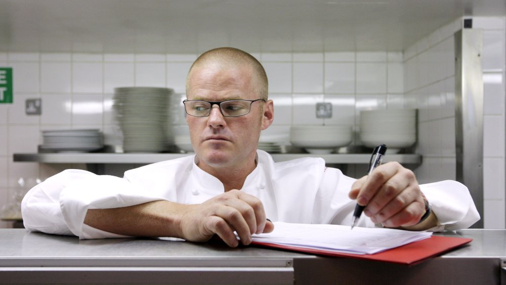 Heston Blumenthal worked as repo man