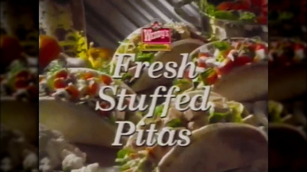 Wendy's fresh stuffed pitas