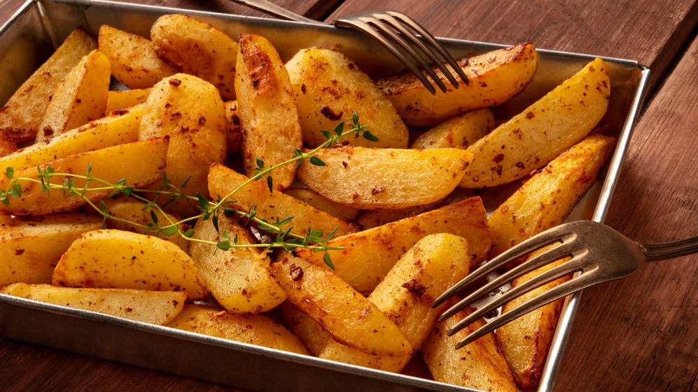 You've been salting your roasted potatoes wrong this whole time